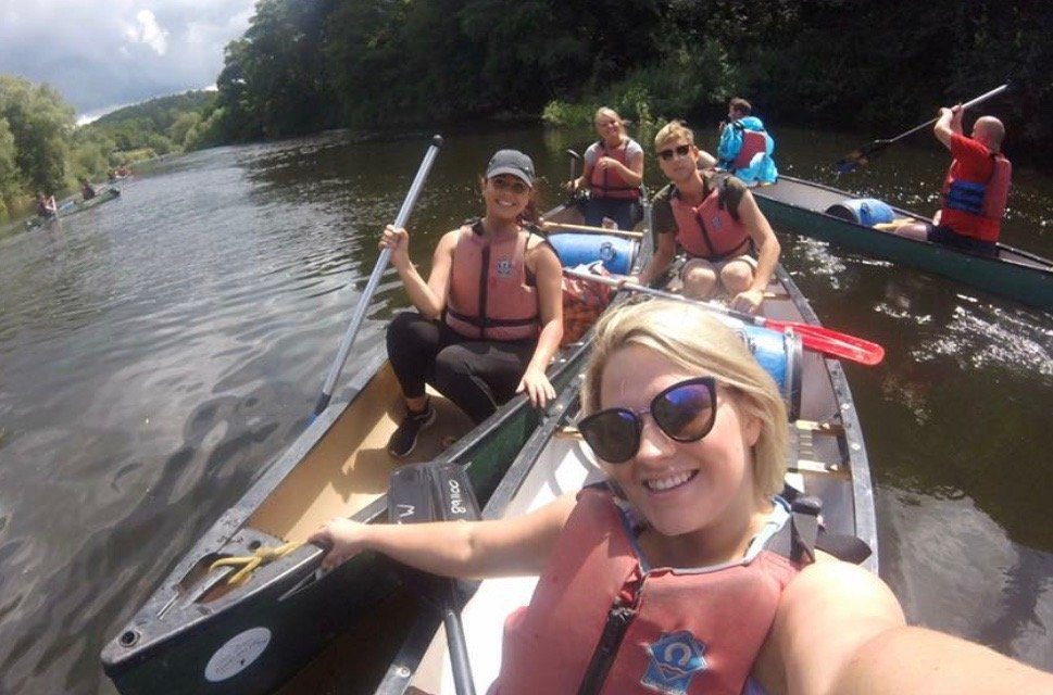 Canoe the Wye Ltd Selfie